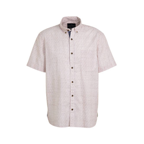 C&A Canda regular fit overhemd met all over pr