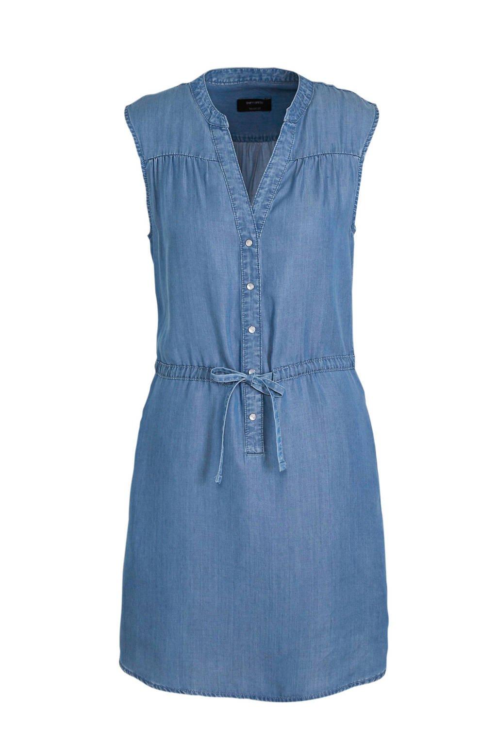 C&A Yessica jurk met plooien blauw, Blauw