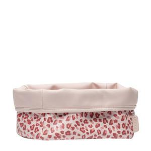 verzorgingsmandje Leopard Pink