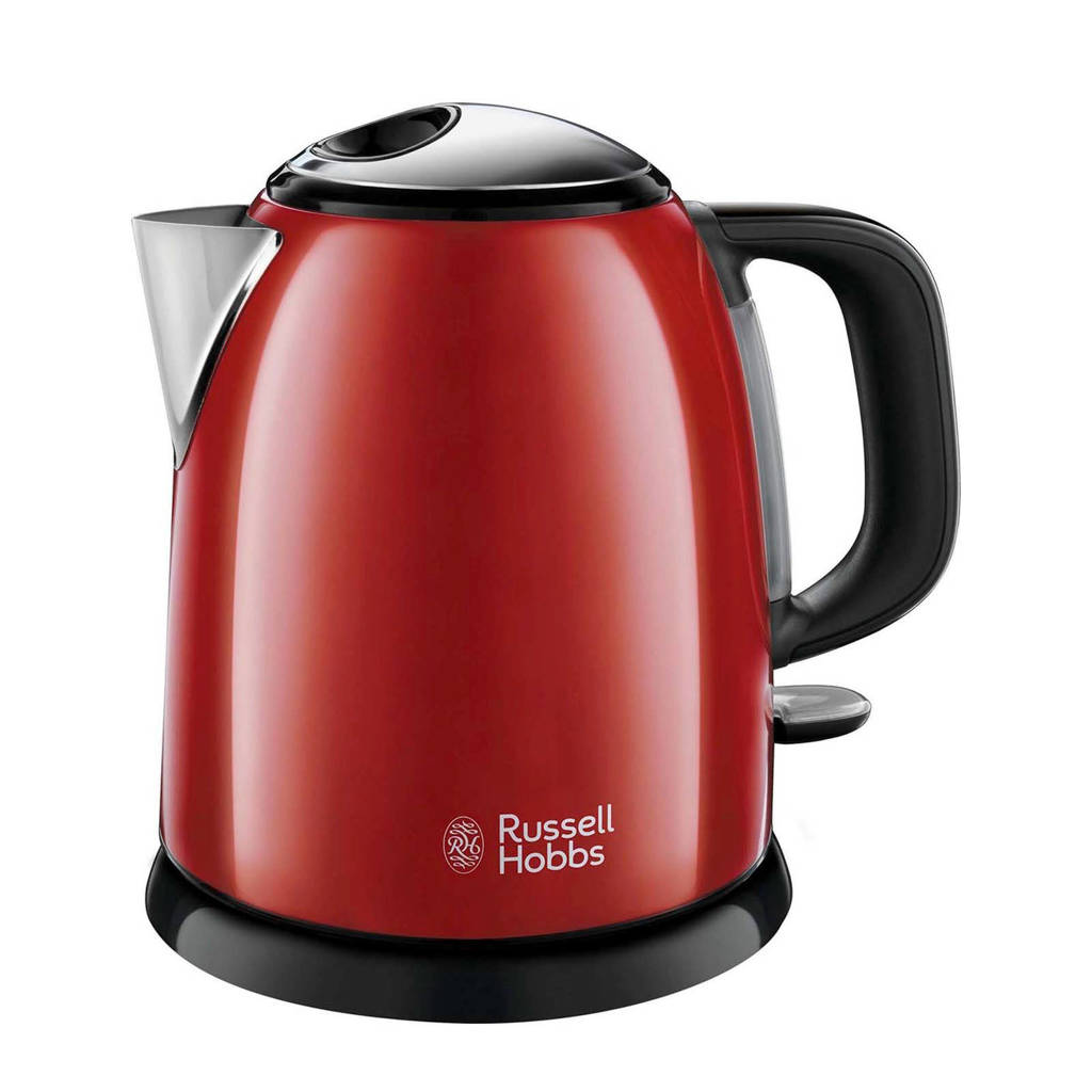 Russell Hobbs 24992-70 waterkoker, Zwart, Rood