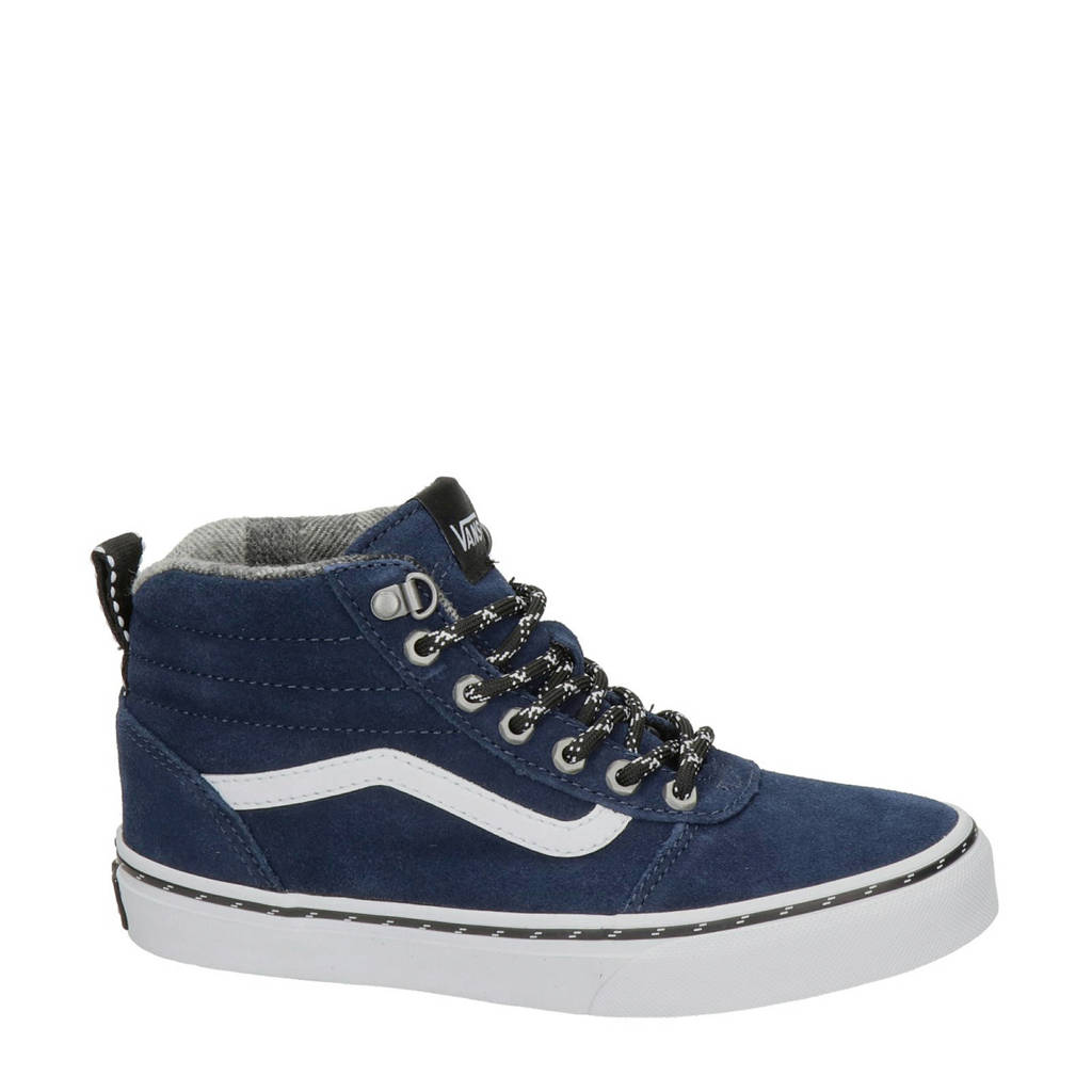 VANS Ward Hi   hoge sneakers donkerblauw, Blauw