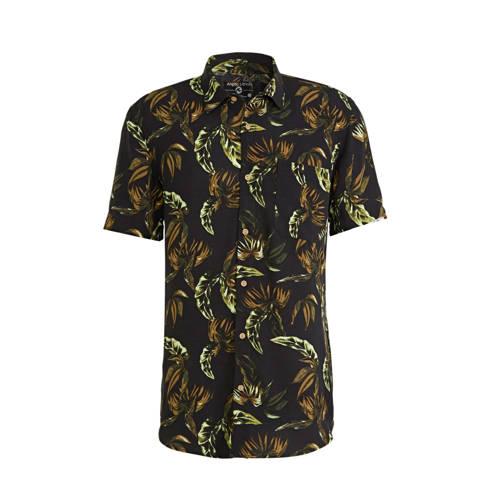 C&A Angelo Litrico regular fit overhemd met al