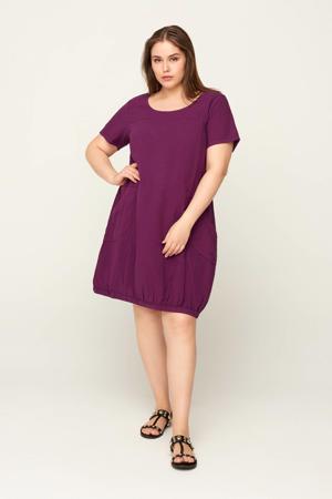 jurk Marrakesh dark purple