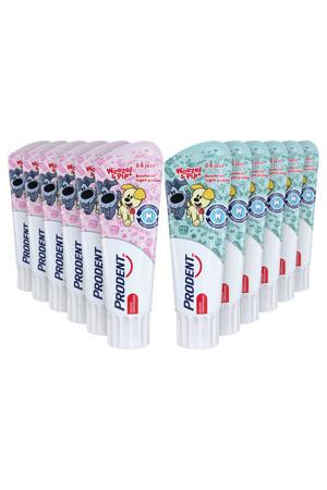 Kids 0-6jr Woezel & Pip tandpasta - 12 x 75 ml