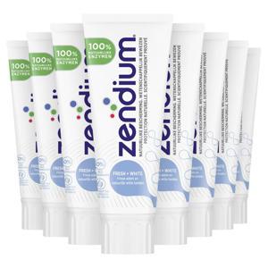 Sensitive Fresh+White Tandpasta - 12 x 75 ml - Voordeelverpakking