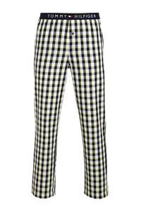 Tommy Hilfiger geruite pyjamabroek donkerblauw, Donkerblauw