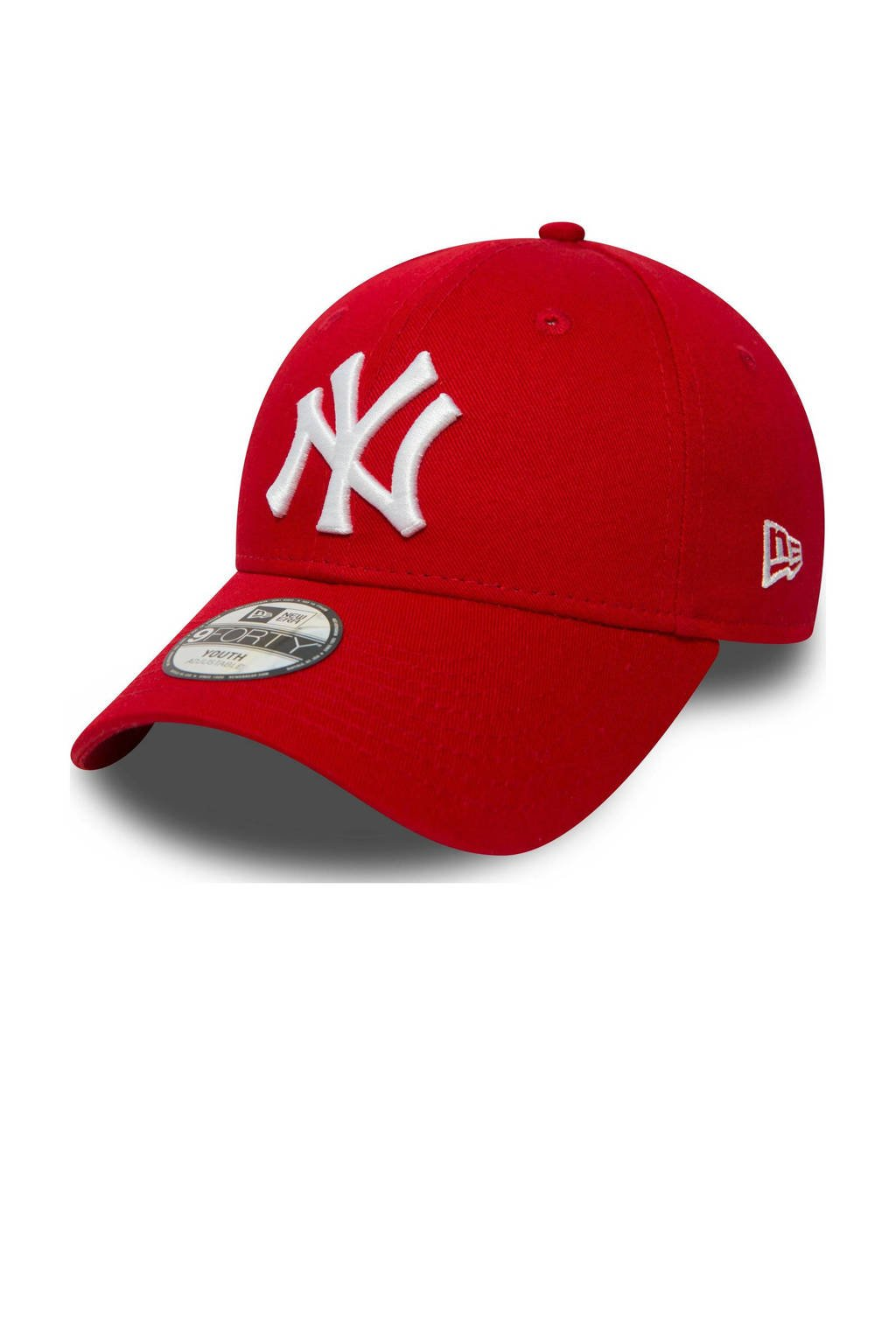 New Era 9Forty Kids pet rood/wit, Rood/wit
