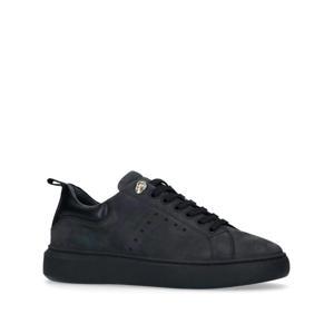nubuck sneakers zwart