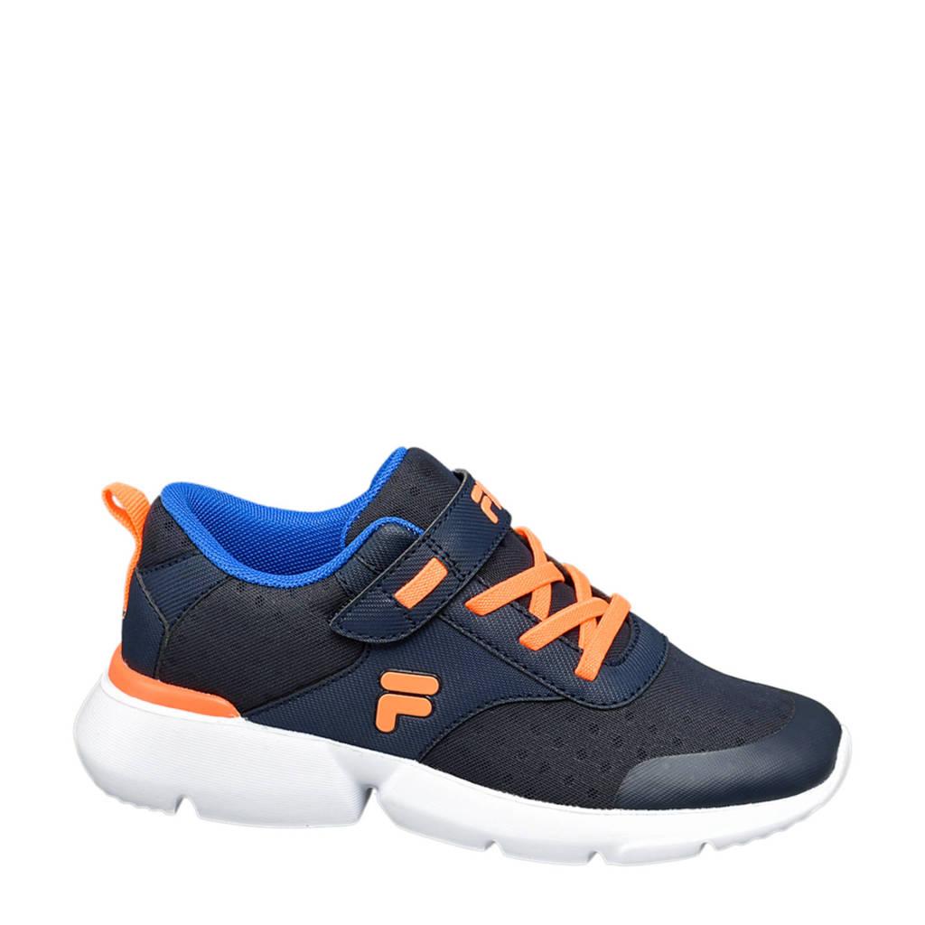 Fila   sneakers donkerblauw/blauw/oranje, Blauw