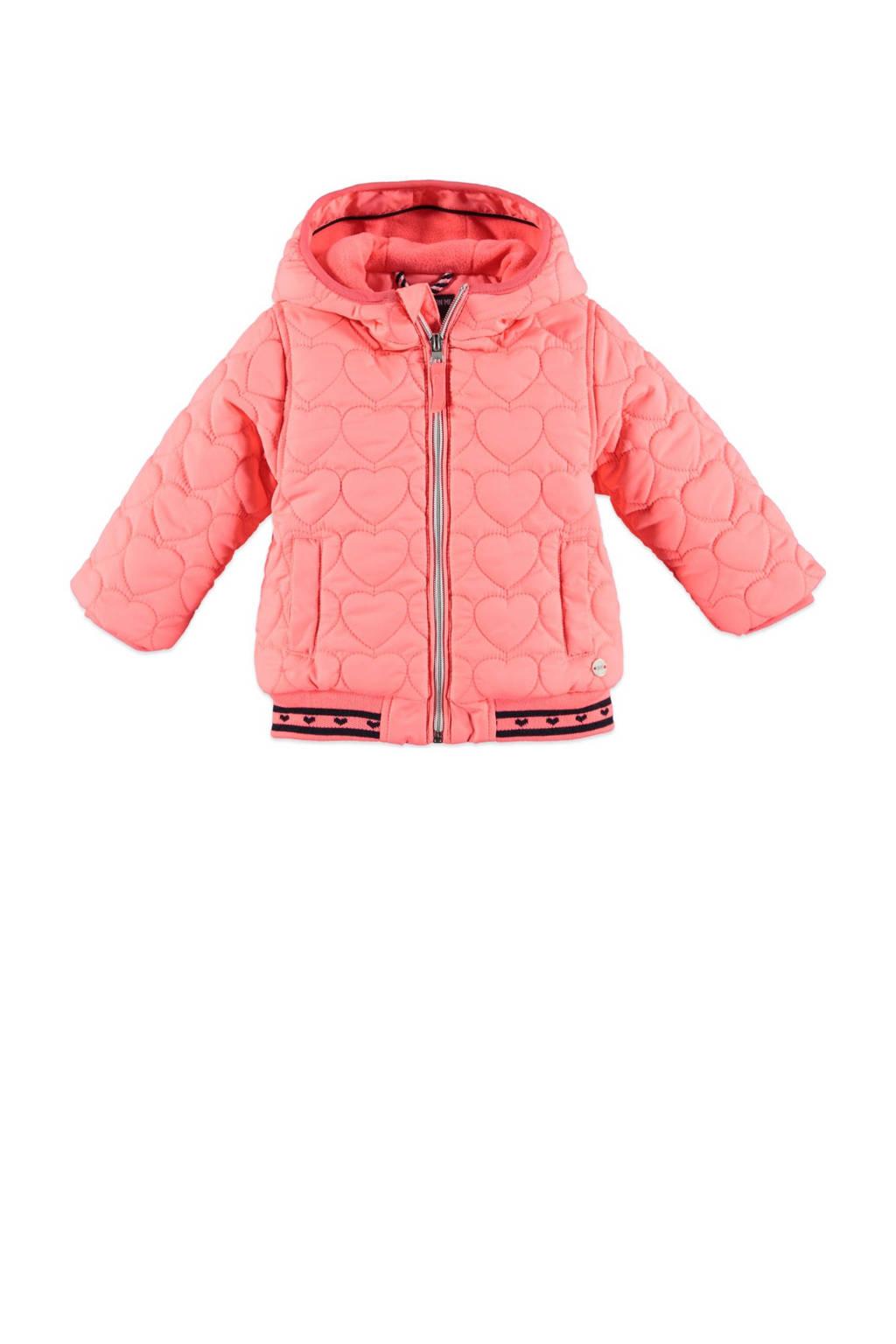 Babyface gewatteerde winterjas roze, Roze