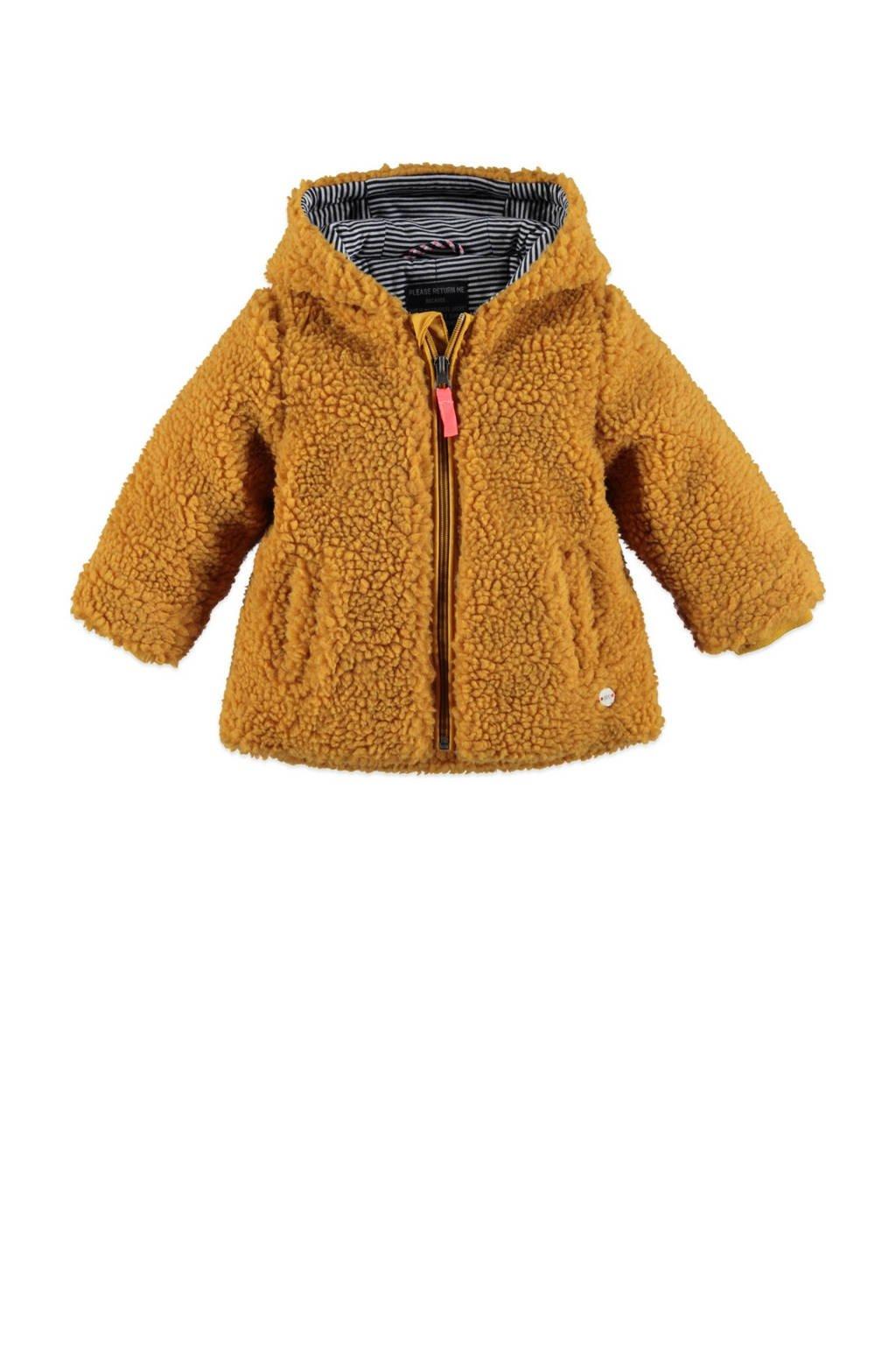 Babyface teddy winterjas okergeel, Okergeel