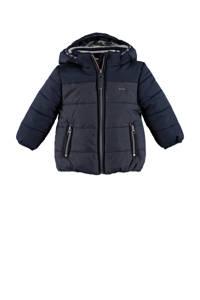 Babyface gewatteerde winterjas donkerblauw, Donkerblauw