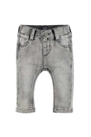baby regular fit jeans grijs stonewashed