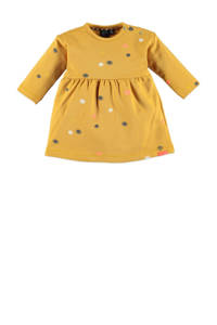 Babyface jersey jurk met biologisch katoen okergeel, Okergeel