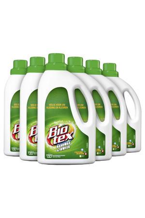 Handwas & Inweek vloeibaar wasmiddel - 6 x 750 ml -  wasbeurten