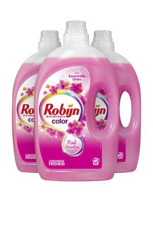 Color Pink Sensation wasmiddel - 3 x 45 wasbeurten - voordeelverpakking - 180 wasbeurten