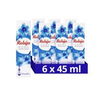 Robijn Morgenfris geurstokjes - 6 x 45 ml (45 ml)
