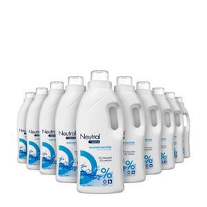 Parfumvrije wasverzachter - 10 x 750 ml -  wasbeurten