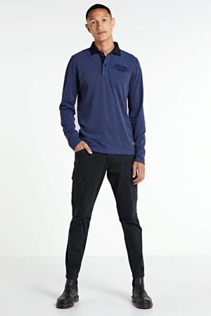 regular fit cargobroek donkerblauw