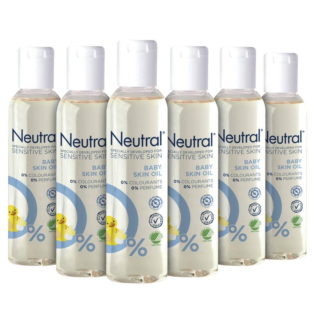 Neutral Baby Parfumvrij huidolie - 6 x 150 ml