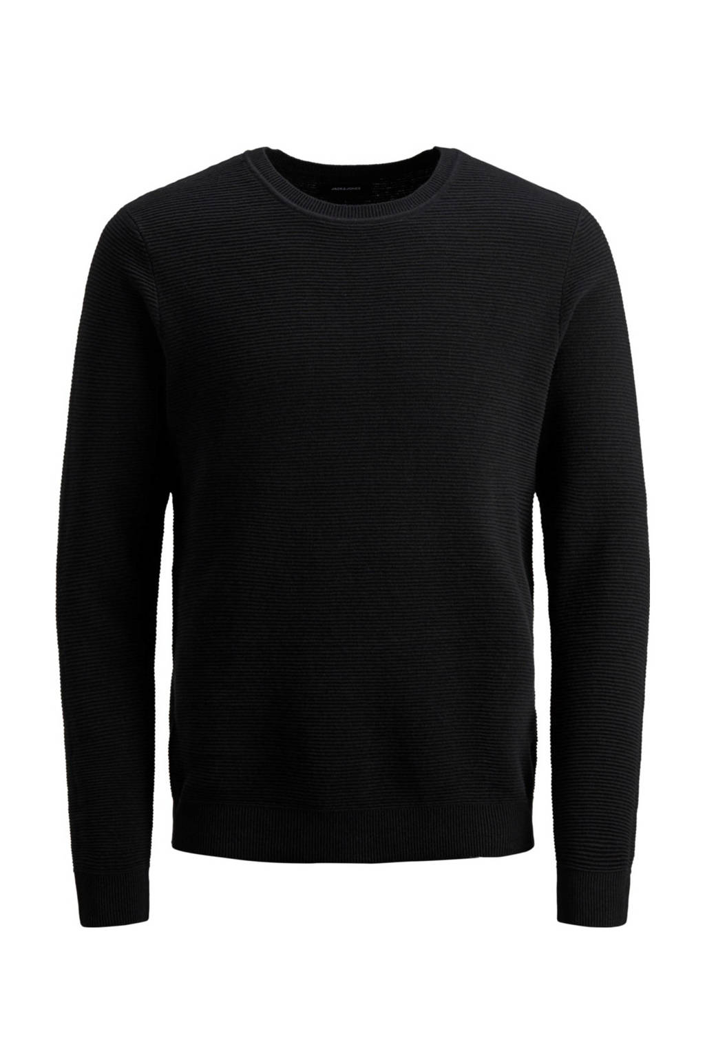 JACK & JONES PLUS SIZE trui zwart, Zwart