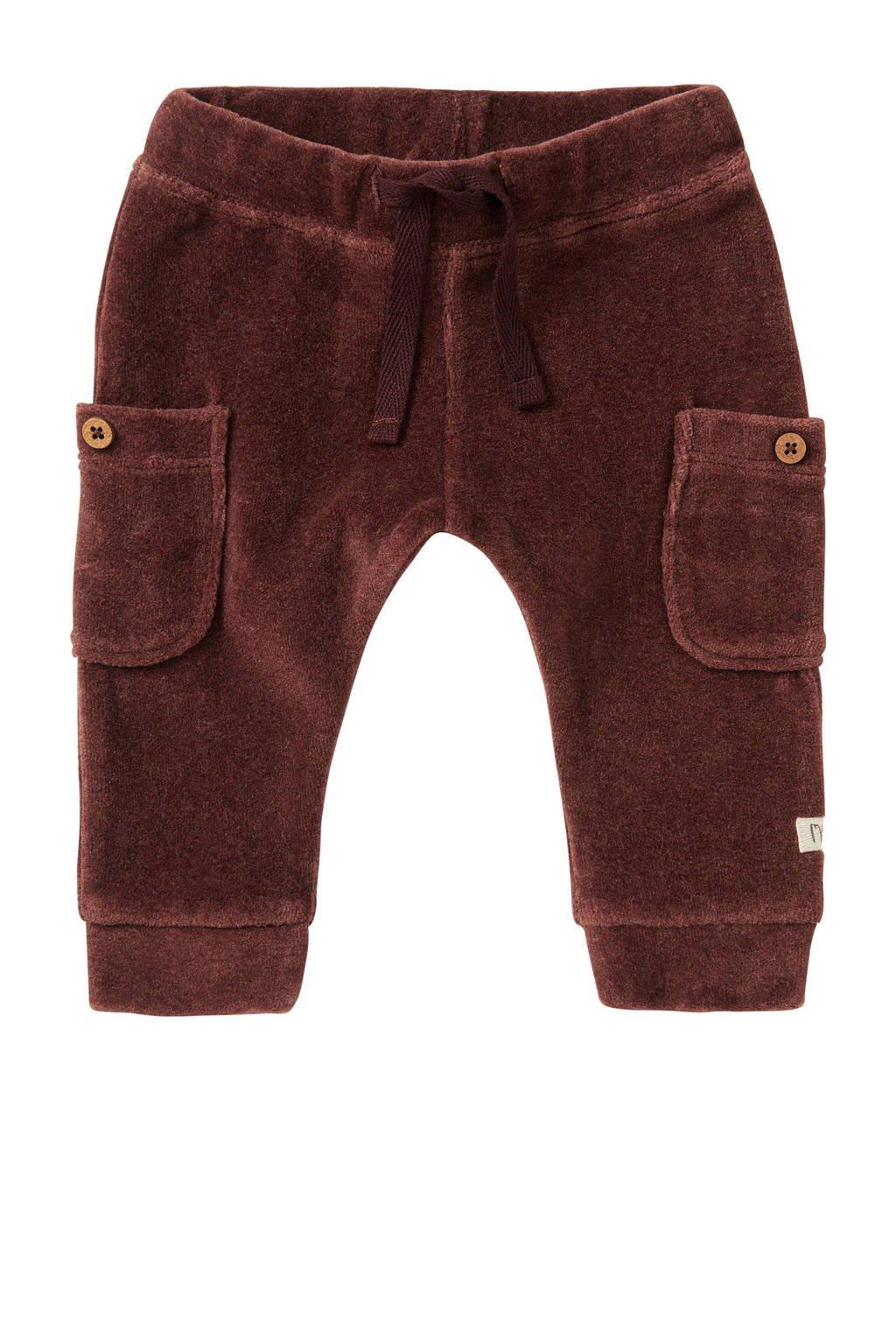 Noppies baby regular fit broek Iswepe bruin, Bruin