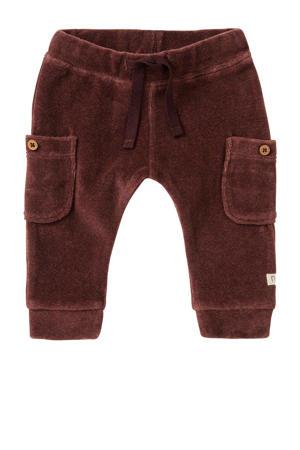 baby regular fit broek Iswepe bruin
