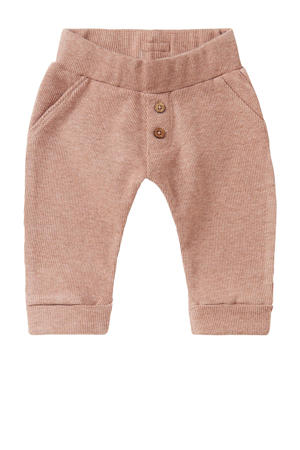 baby regular fit broek Clarens oudroze