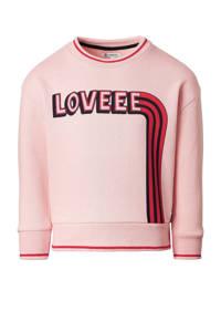 Noppies sweater Marble van biologisch katoen roze/rood, Roze/rood