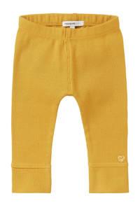 Noppies baby legging Karkams geel, Geel