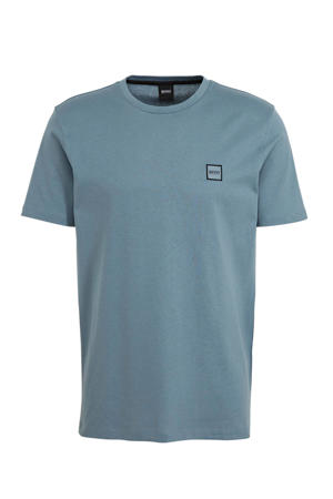 T-shirt grijsblauw