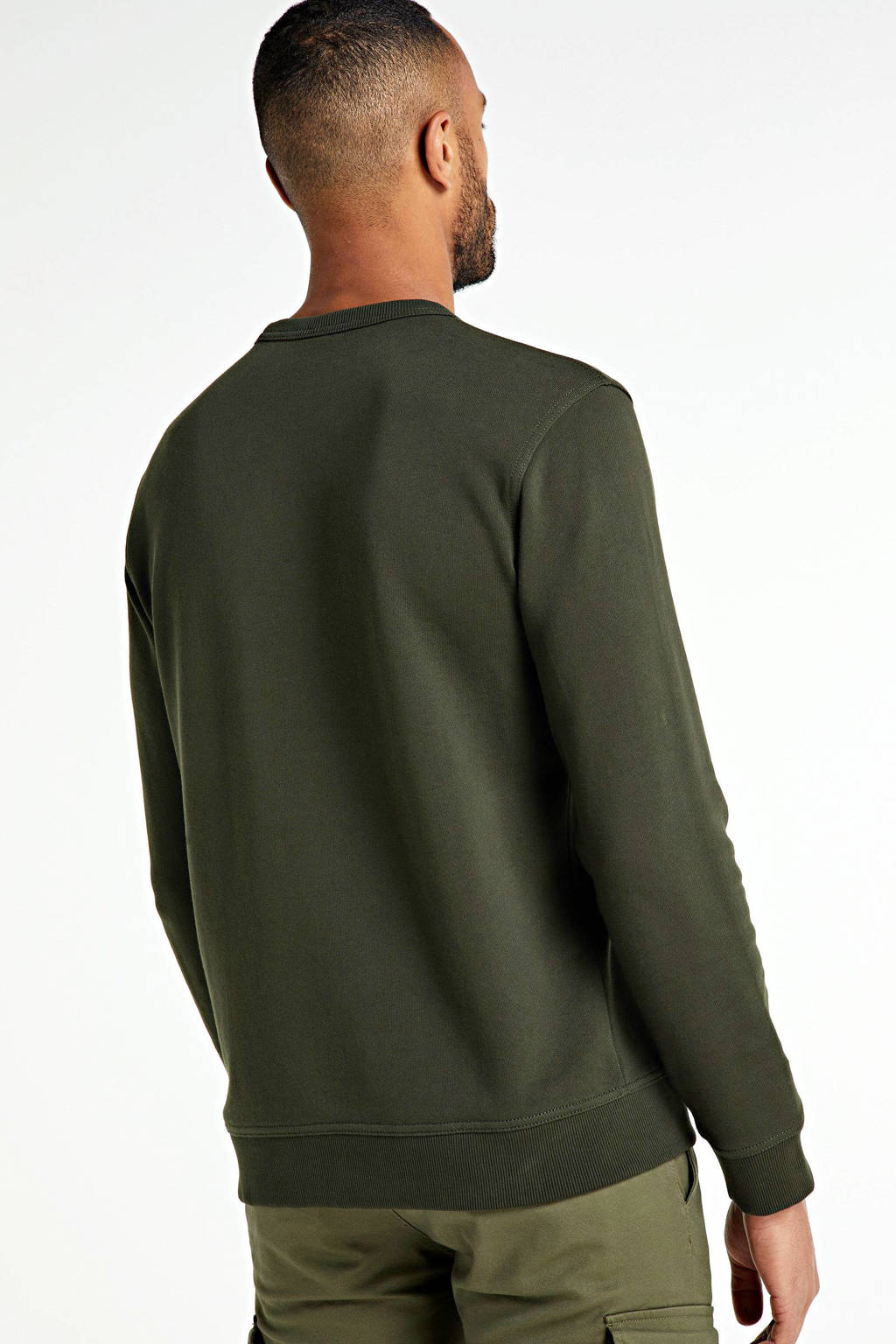 BOSS Casual sweater olijfgroen, Olijfgroen