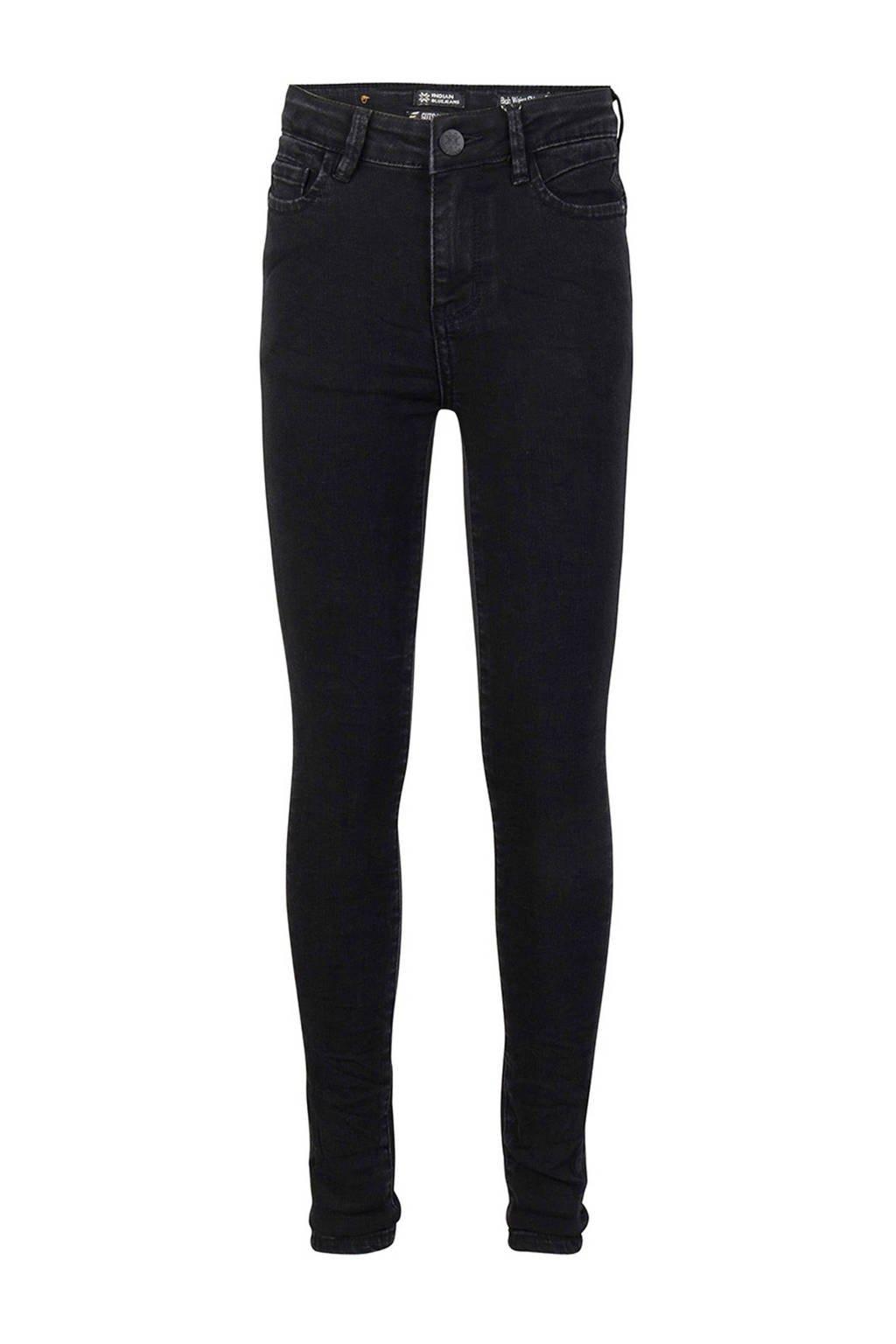Indian Blue Jeans high waist skinny jeans Lois black denim, Black denim
