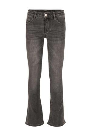flared jeans Lola donkergrijs
