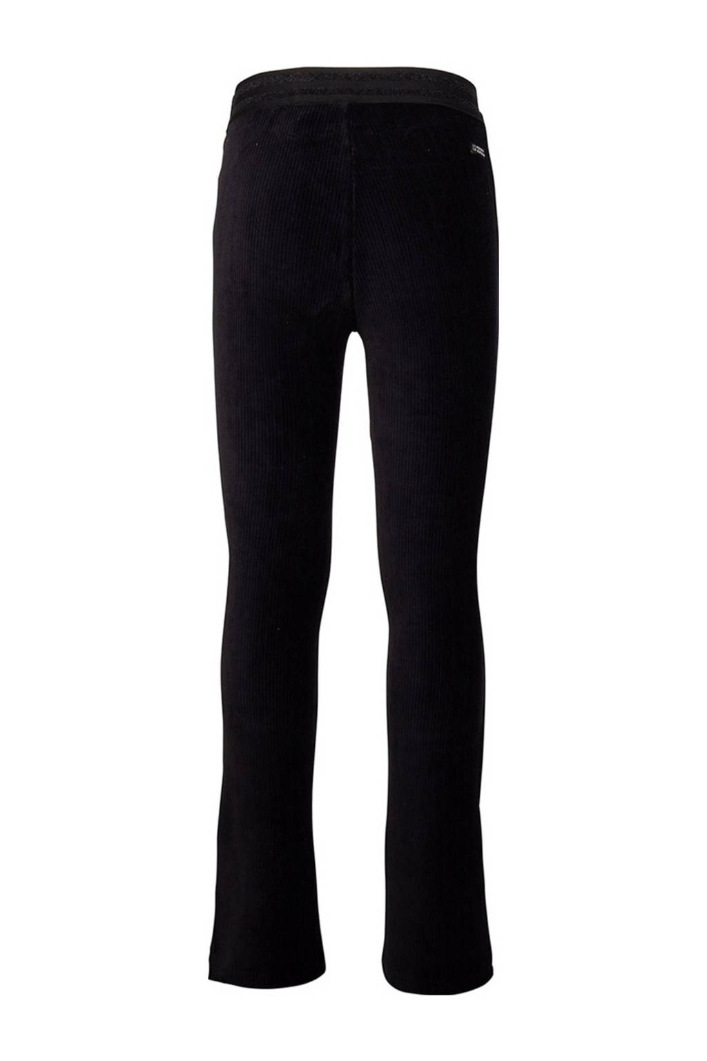 Indian Blue Jeans flared broek zwart, Zwart