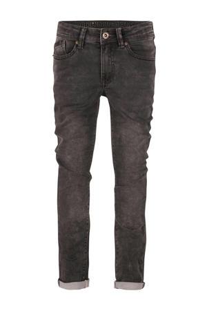 slim fit jeans Max jog donkergrijs