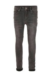 Indian Blue Jeans super skinny jeans Brad met slijtage grijs, Grijs