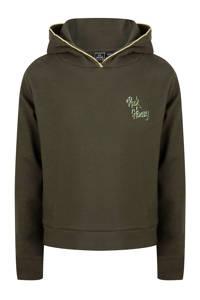 Indian Blue Jeans hoodie army groen, Army groen