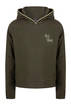 hoodie army groen