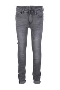 Indian Blue Jeans skinny jeans Ryan met slijtage grijs, Grijs