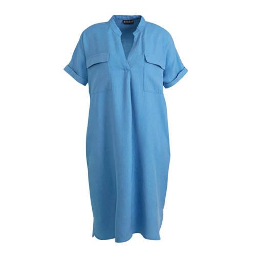 C A jurk blauw