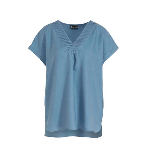 C&A T-shirt blauw