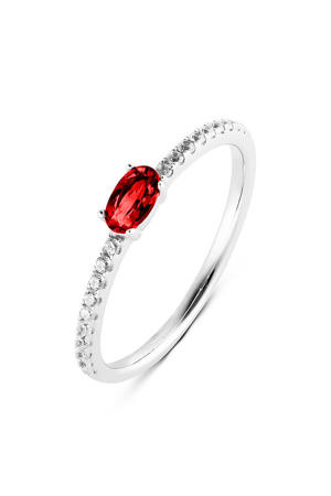ring PDM11133028 zilver/rood