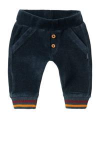 Noppies baby regular fit broek Parow met biologisch katoen donkerblauw/donkerrood/okergeel, Donkerblauw/donkerrood/okergeel