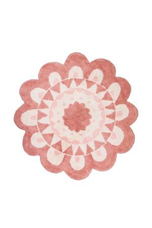kindervloerkleed Flower  (Ø120 cm)