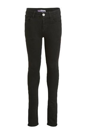 high waist super skinny jeans Chelsea zwart
