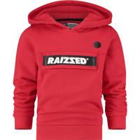 Raizzed hoodie Norwich met logo rood/zwart, Rood/zwart