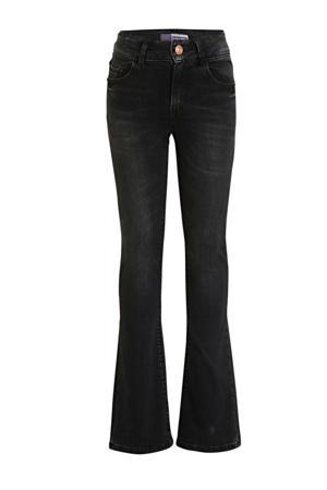 high waist flared jeans Melbourne zwart