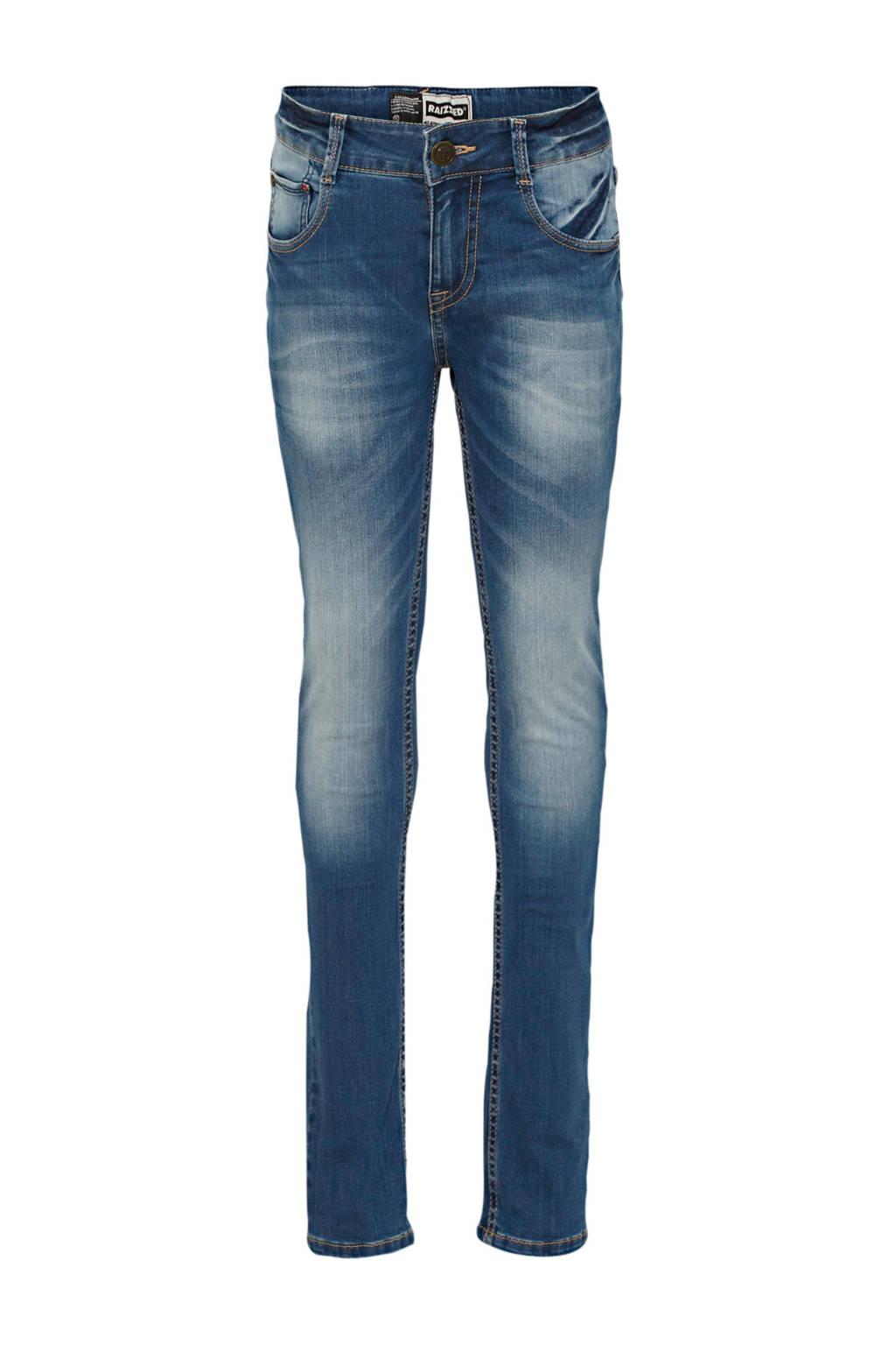 Raizzed skinny jeans Tokyo mid blue stone, Mid blue stone