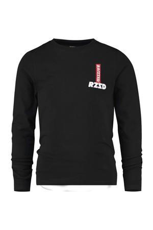 longsleeve Jersey met logo zwart